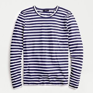 NWT J.CREW striped long sleeve